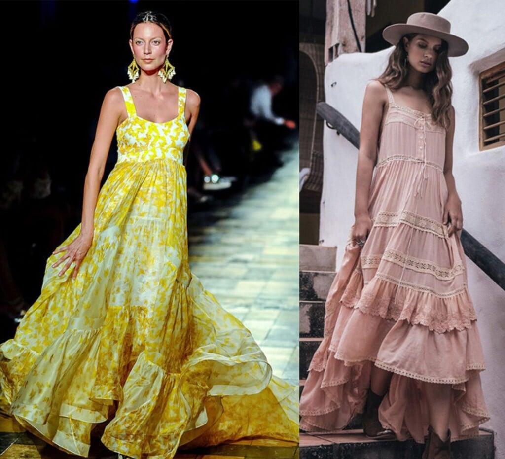 d68c7f310779 Trendy maxi šaty - ideálna letná voľba