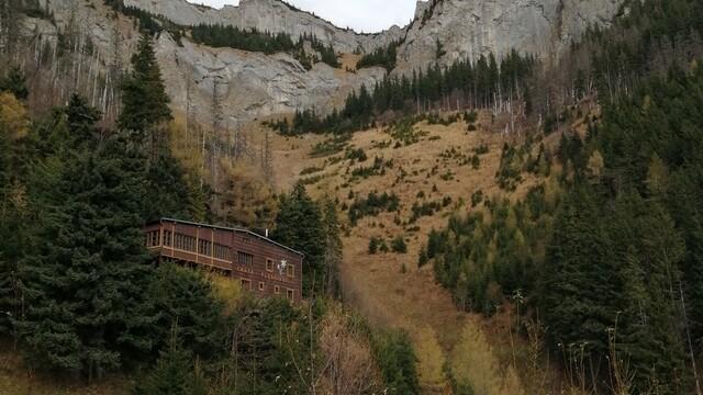Chata Plesnivec - jediná horská chata v Belianskych Tatrách