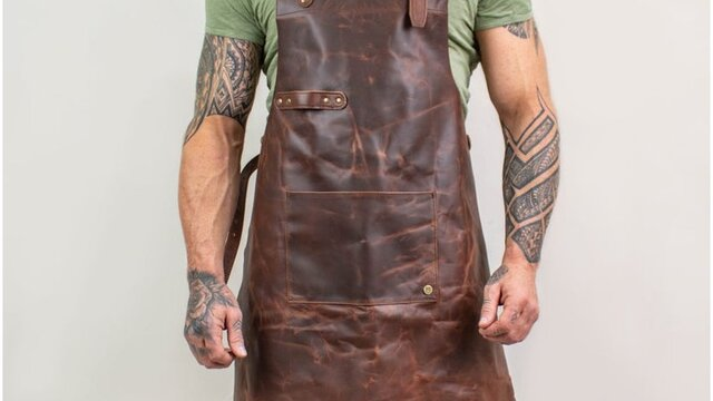 Leather Welding Apron - Large Selection Of Leather Aprons