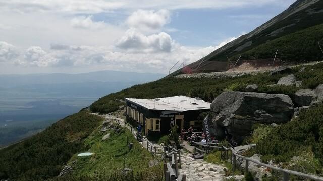 Skalnatá chata pod Lomnickým štítom