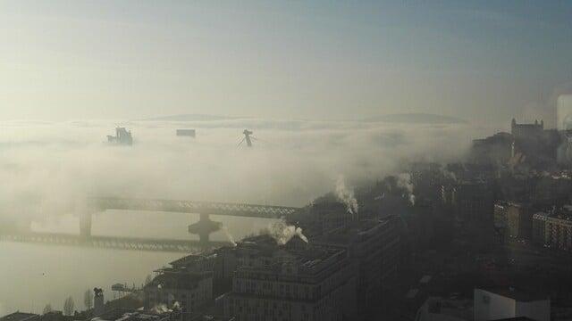 Far Over the City Bridges Cold