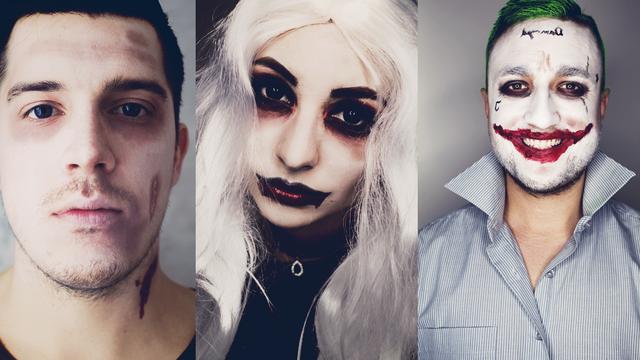 The Joker, vamp(ire) & zombie- 3 nápady na Halloween
