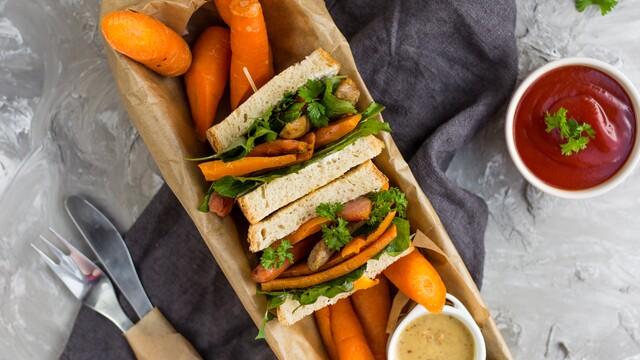 Miluješ rýchle chutné jedlo bez varenia? Mám pre teba recept na božský sendvič!