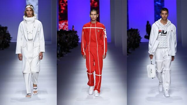 Značka Fila a jej prvý debut na Milan Fashion Weeku – Móda Ženy, spring 2019
