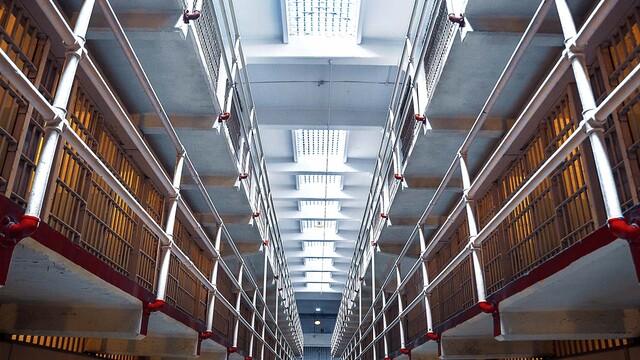 Posedenie vo väznici Alcatraz