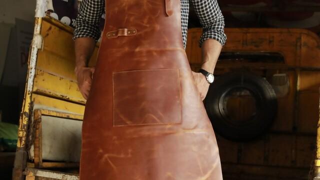 Leather Butcher Apron - Original Leather Apron Makers