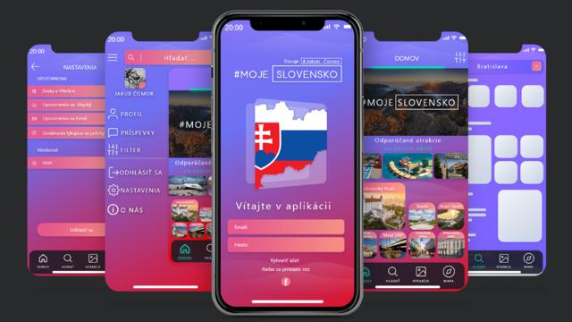 Moje Slovensko: Aplikácia ktorá vám ukáže tie najkrajšie miesta vo vašom okolí.