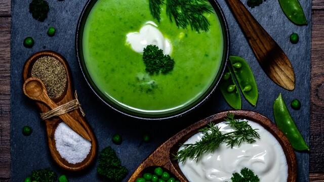 Hráškovo Smotanová polievka