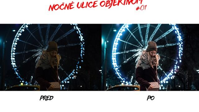 Nočné ulice objektívom #01