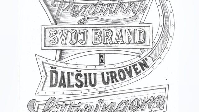 Pozdvihni svoj brand na ďaľšiu úroveň letteringom
