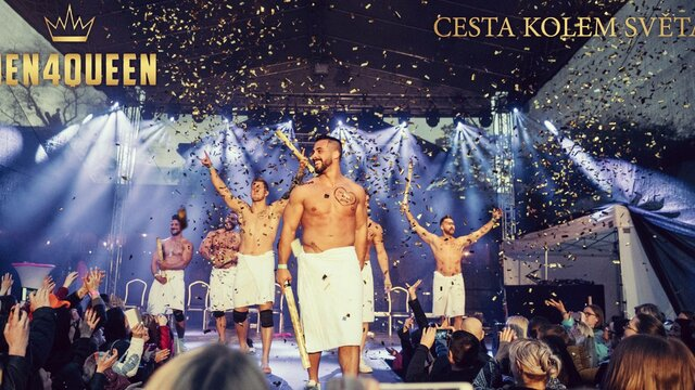 Znama STRIPTERSKA skupina rozbieha velku tour po Cesku