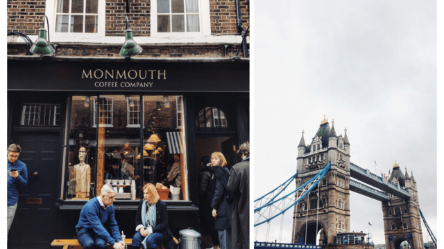 Londýn s dávkou kofeínu!