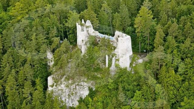 Krásy Gaderskej doliny - Hrad Blatnica