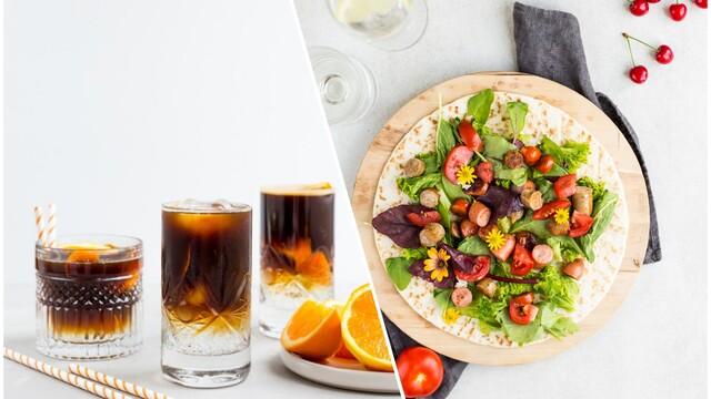 Tip na obed za 5 min a k tomu 2 recepty na ľadové kávové drinky, ktoré nesmú chýbať počas letného dňa