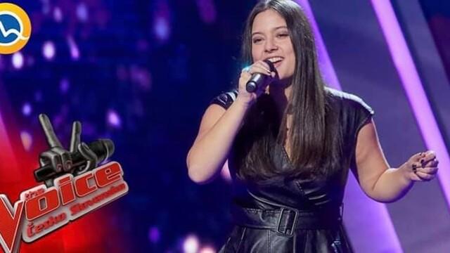Sympatická speváčka TERI ČIKOŠ z THE VOICE ČESKO SLOVENSKA.Máme novú víťazku súťaže?