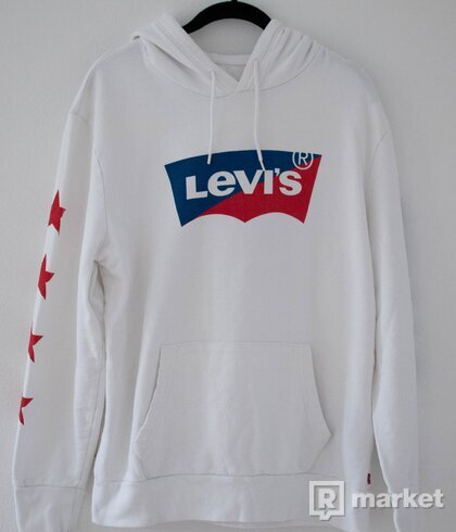 """Levi's Mikina """"Star White"""""""