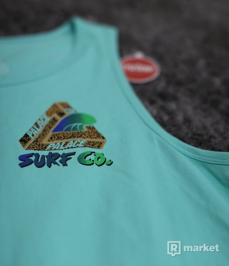 Palace Surf Co. Tank Top Green