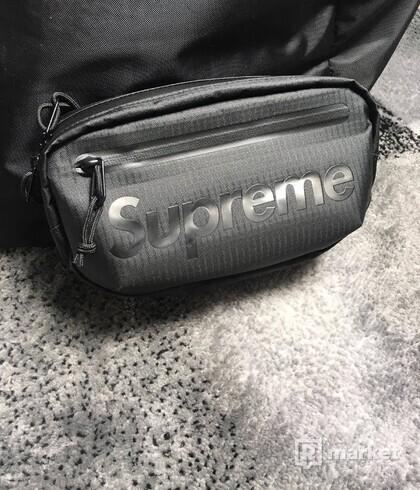 Supreme Waist bag  Black (SS21)