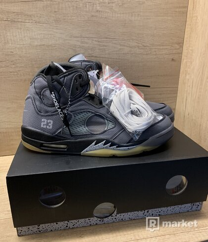 Nike Air Jordan 5 x OFF-WHITE