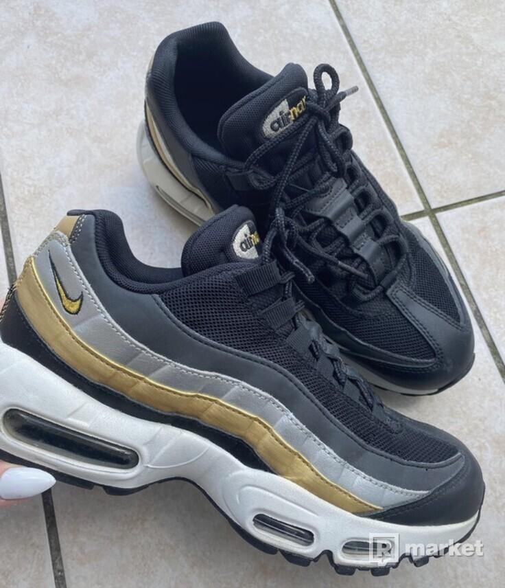 Air max 95 metallic gold/silver