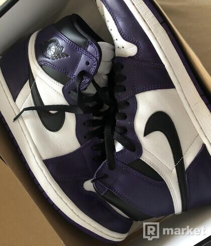 Nike Air Jordan 1 High Court Purple 45eu