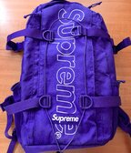 Supreme FW18 Backpack - Purple
