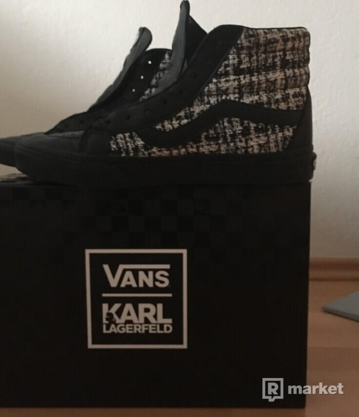 Vans x Karl Lagerfeld  SK8-HI