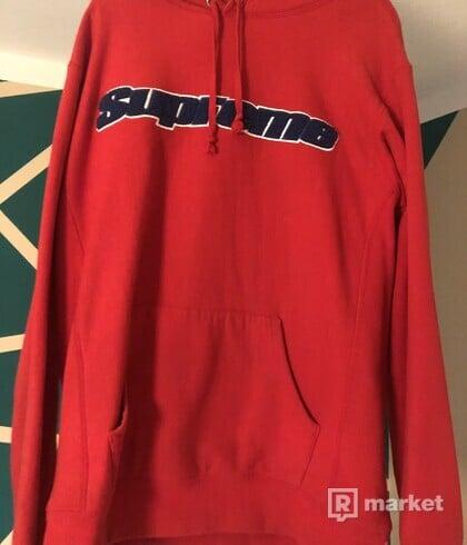 Supreme chenille hoodie