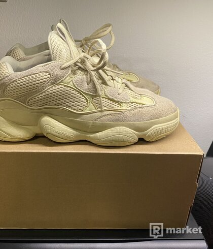 Yeezy 500 supermoonyellow