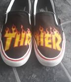 Thrasher x Vans