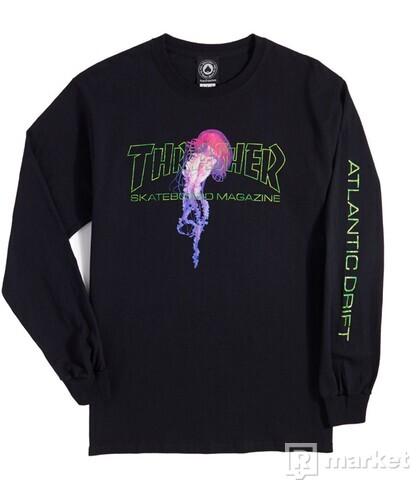 Thrasher tričko s dlhým rukávom
