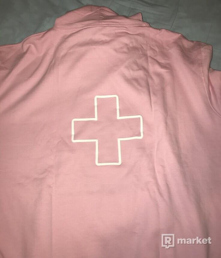 P+F Belly Logo Hoodie