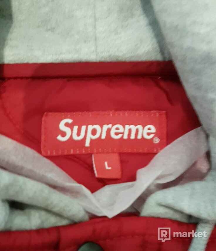 ♦Supreme quilted hoded jacket♦