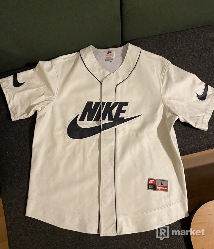 Supreme Nike Baseball Jersey
