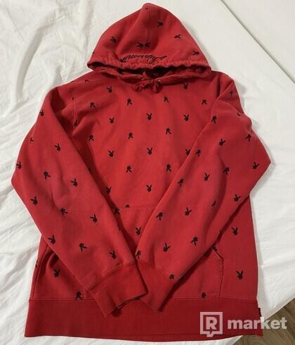 Supreme x playboy hoodie