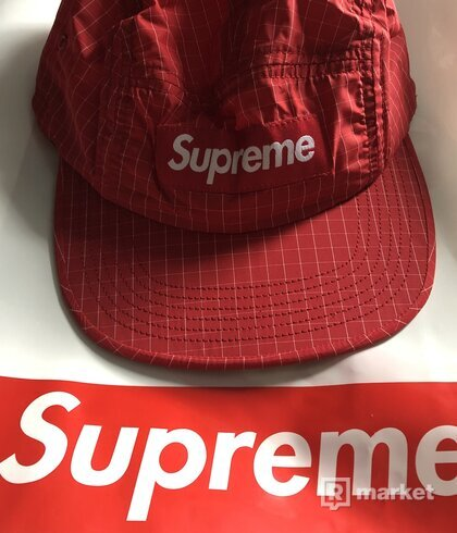 Supreme camp cap red