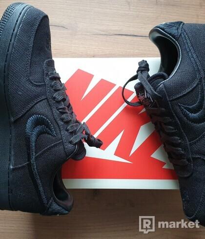 Nike Air force Stussy Black