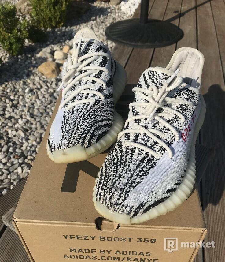 Prodám yeezy zebra