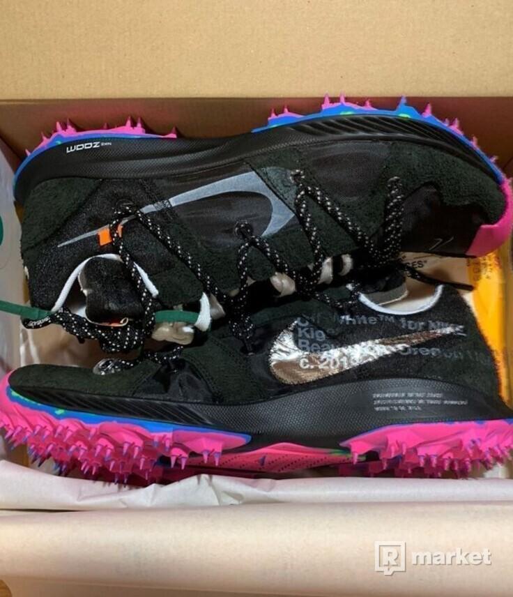 Off White Nike Terra Kiger 5 Black