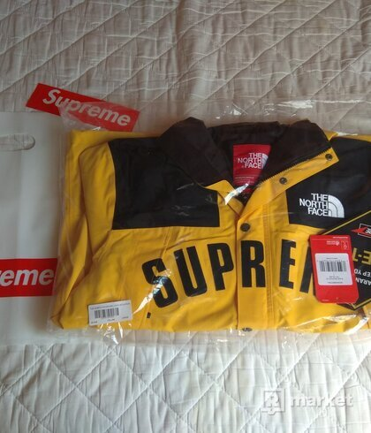 Supreme The North Face Arc Logo Parka Yellow veľkosť L