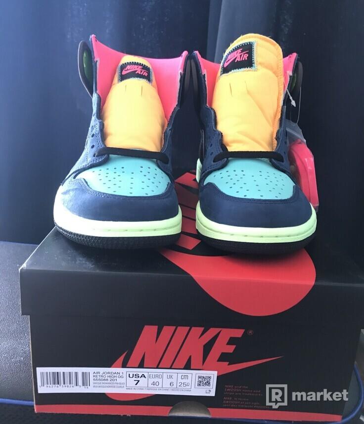 """Nike Air Jordan 1 """"Tokyo Bio Hack"""""""