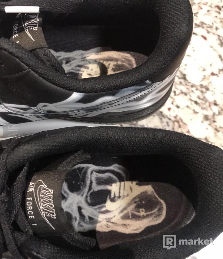 Nike Air Force 1 Skeleton Black US 11.5