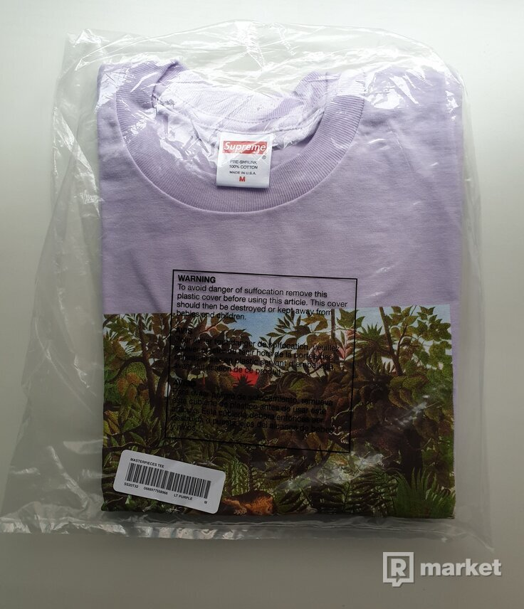 Supreme Masterpieces Tee