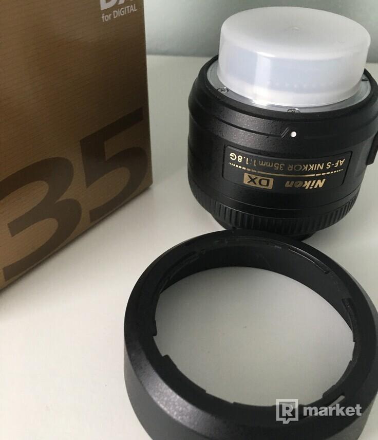 NIKKOR 35mm f/1.8 AF-S DX Objektív na Nikon