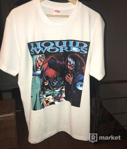 Supreme liquid swords tee