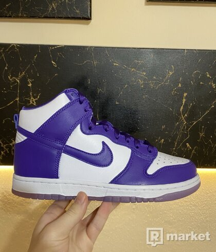 Nike Dunk High SP Varsity Purple