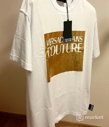 bílé tričko Versace