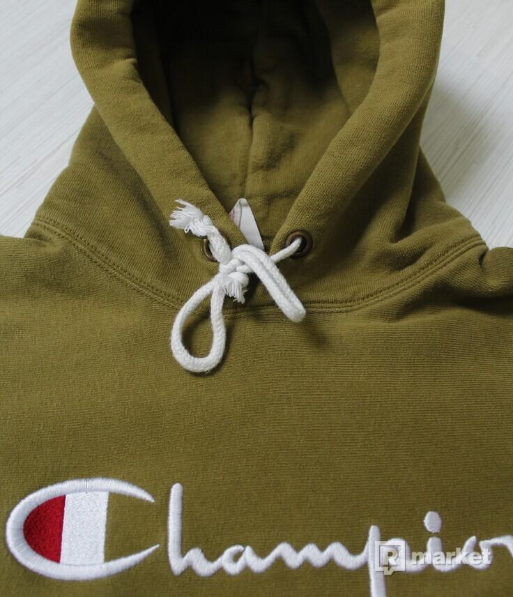Champion reverse hoodie olive