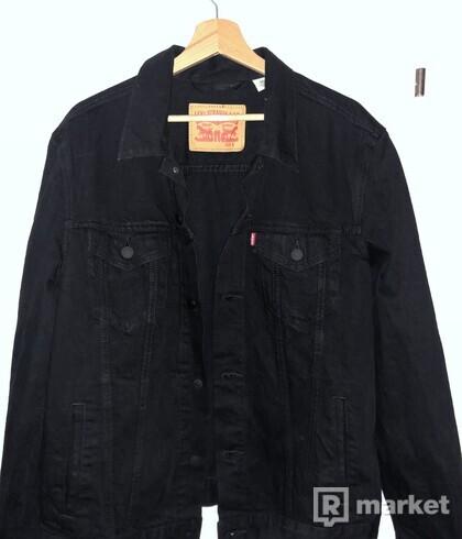 Levis Riflovka riflova bunda cením jacket