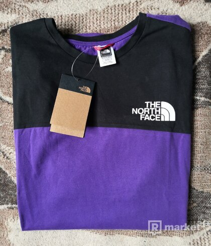 The North Face Tričko PurpleBlack